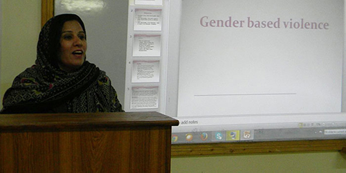 Psychological and Legal Support to the victims of Gender Based Violence