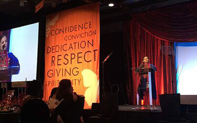 Co-founder, Shawana Shah, receives Humanitarian Award