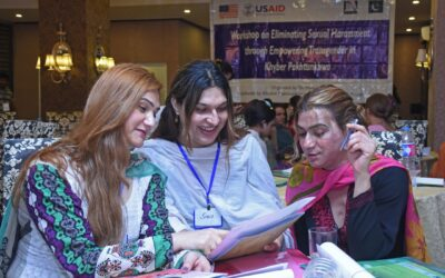 Eliminating Sexual Harassment through Empowering Transgender in Khyber Pakhtunkhwa