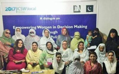 Dialogue on Political Empowerment of Women in KP