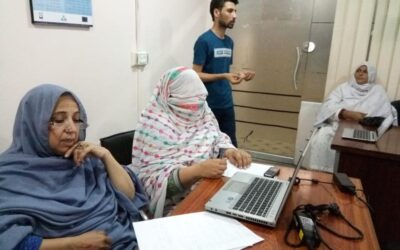 Digital Literacy Training of Women Home Based Workers in KP