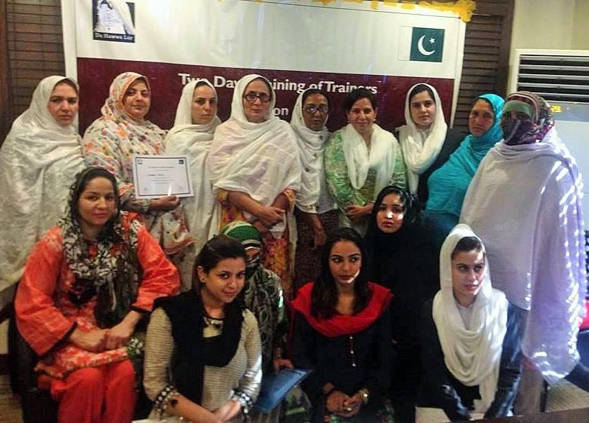 Training on Reproductive Health Rights of Women in KP