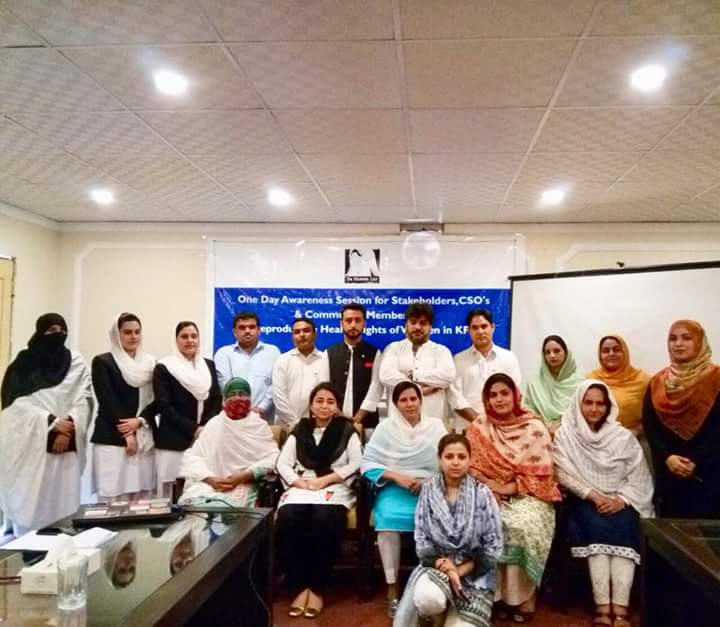Awareness Session on Reproductive Health Rights of Women in KP